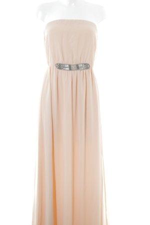 Zara Trafaluc Abendkleid nude-silberfarben Elegant