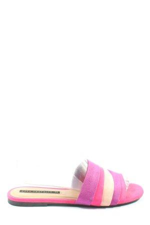 Zara Trafaluc Sabots pink Casual-Look