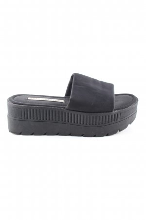 Zara Trafaluc Heel Pantolettes black casual look