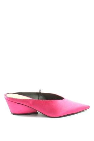 Zara Trafaluc Mule à talon rose style décontracté