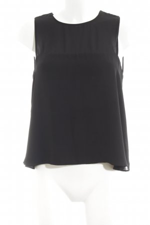 Zara Trafaluc ärmellose Bluse schwarz Casual-Look