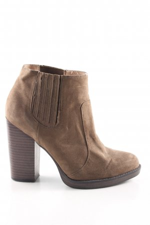 Zara Trafaluc Ankle Boots braun Casual-Look