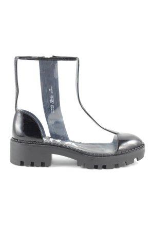 Zara Trafaluc Ankle Boots schwarz Casual-Look