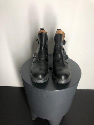 Zara Trafaluc Ankle Boots, schwarz