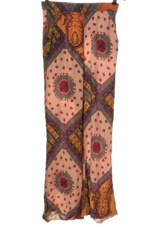 Zara Trafaluc Baggy Pants abstraktes Muster Casual-Look