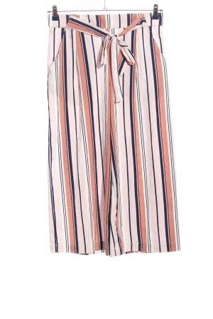 Zara Trafaluc Baggy Pants Streifenmuster Casual-Look