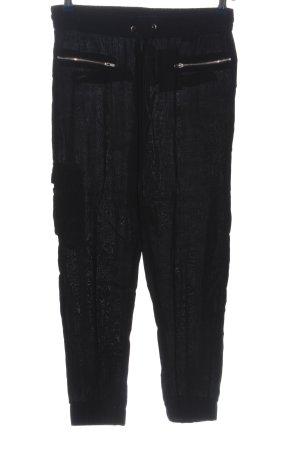 Zara Trafaluc Baggy Pants schwarz Casual-Look