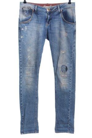 Zara Trafaluc Jeans baggy bleu style décontracté