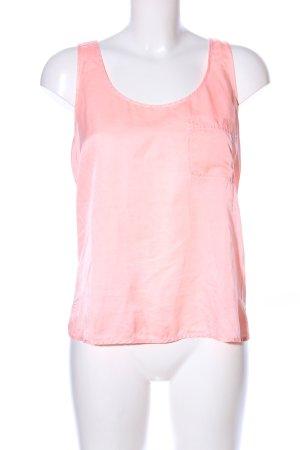Zara Trafaluc Basic topje roze casual uitstraling