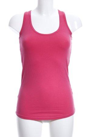 Zara Trafaluc Basic Top pink Casual-Look