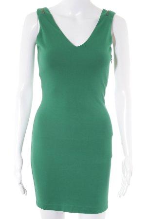 Zara Trafaluc Bleistiftkleid bronzefarben-grün Elegant