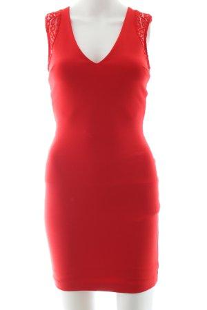 Zara Trafaluc Bleistiftkleid rot Elegant