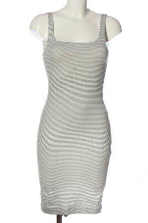 Zara Trafaluc Ołówkowa sukienka biały-czarny Na całej powierzchni