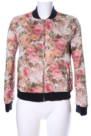 Zara Trafaluc Blouson motivo floreale stile casual