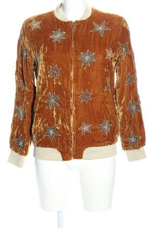 Zara Trafaluc Blouson arancione chiaro stile casual