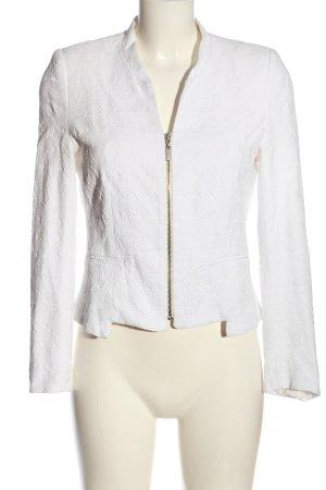 Zara Trafaluc Chaqueta tipo blusa blanco elegante