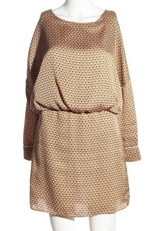 Zara Trafaluc Blusenkleid mehrfarbig Elegant