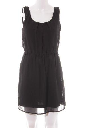 Zara Trafaluc Blusenkleid schwarz Elegant
