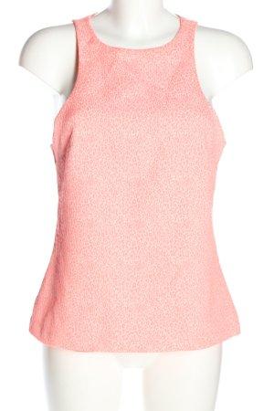 Zara Trafaluc Blouse topje roze volledige print casual uitstraling