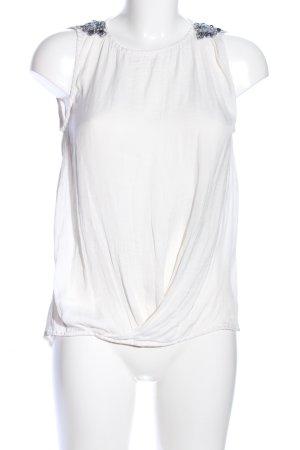 Zara Trafaluc Blouse topje wit elegant