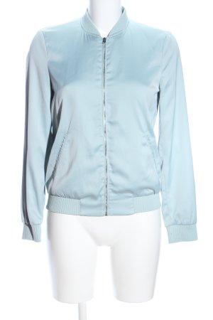 Zara Trafaluc Bomberjacke blau Casual-Look