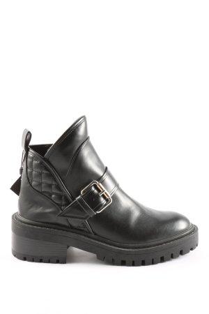 Zara Trafaluc Booties schwarz extravaganter Stil