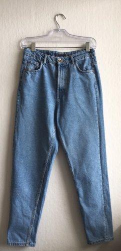 Trafaluc by Zara Boyfriend jeans lichtblauw