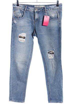 Zara Trafaluc Boyfriend jeans blauw casual uitstraling