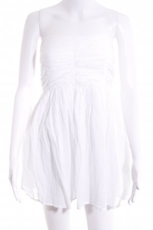 Zara Trafaluc Bustierkleid wollweiß Elegant