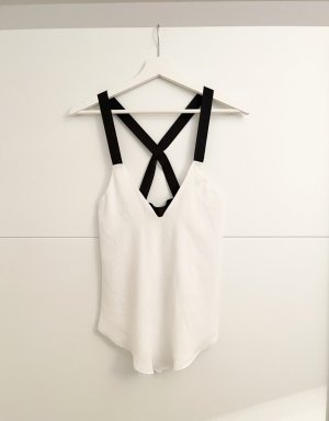 Zara Camisola negro-blanco