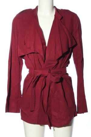Zara Trafaluc Cardigan rot Casual-Look