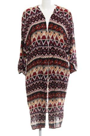 Zara Trafaluc Cardigan abstraktes Muster Casual-Look