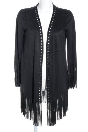 Zara Trafaluc Cardigan schwarz Street-Fashion-Look