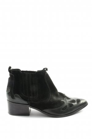 Zara Trafaluc Chelsea Boots schwarz Casual-Look