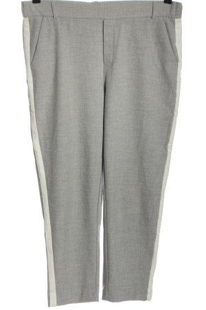 Zara Trafaluc Pantalone chino grigio chiaro puntinato stile casual