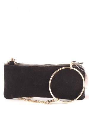 Zara Trafaluc Clutch schwarz Elegant