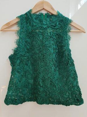 Zara Trafaluc Cropped top groen-bos Groen