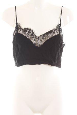 Zara Trafaluc Cropped Top schwarz Elegant