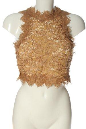 Zara Trafaluc Cropped Top hellorange Elegant