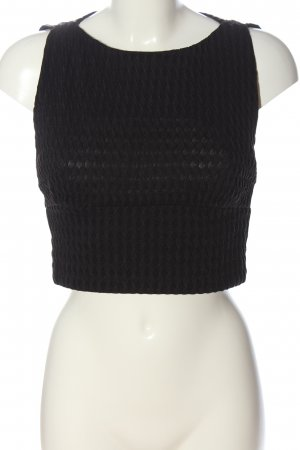Zara Trafaluc Cropped top zwart volledige print casual uitstraling