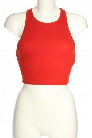 Zara Trafaluc Cropped Top rot Casual-Look