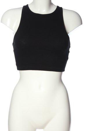 Zara Trafaluc Cropped top zwart casual uitstraling