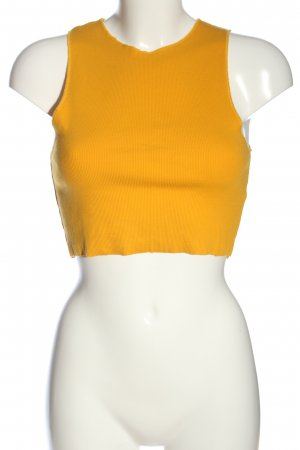 Zara Trafaluc Cropped Top hellorange Casual-Look