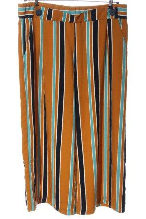 Zara Trafaluc Pantalone culotte motivo a righe stile casual