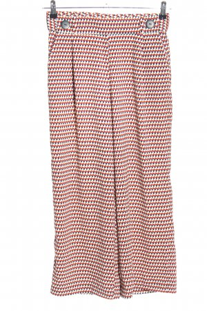 Zara Trafaluc Culottes allover print casual look