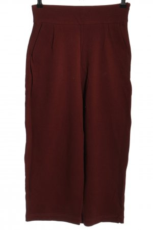 Zara Trafaluc Culottes rood casual uitstraling