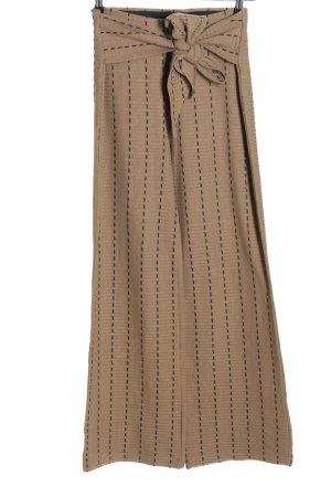 Zara Trafaluc Culottes braun Casual-Look