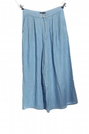 Zara Trafaluc Culottes blau Casual-Look