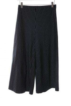 Zara Trafaluc Culottes schwarz Streifenmuster Business-Look