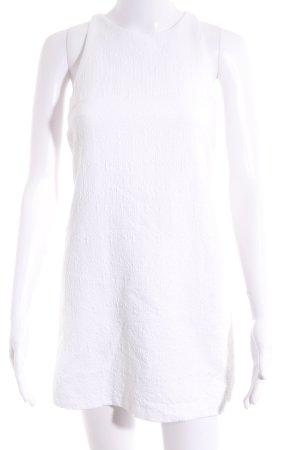 Zara Trafaluc Cut-Out-Kleid wollweiß Elegant